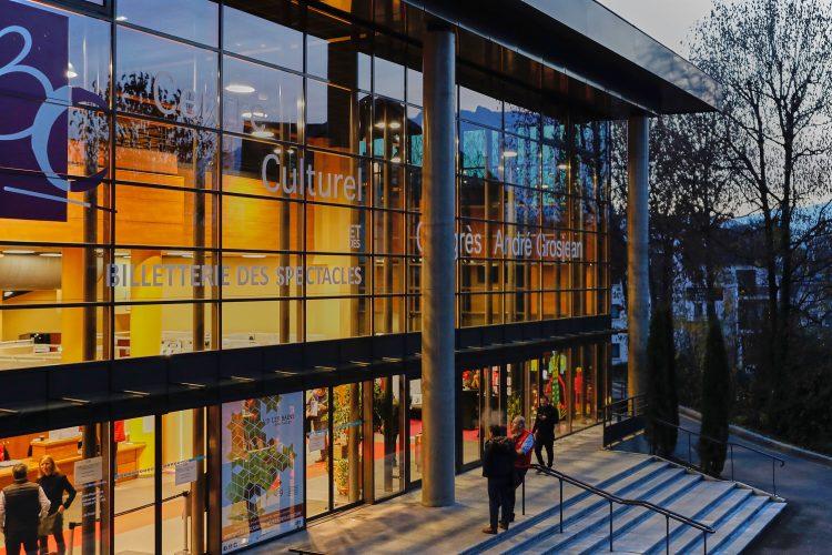 Centre des congrès à Aix les Bains